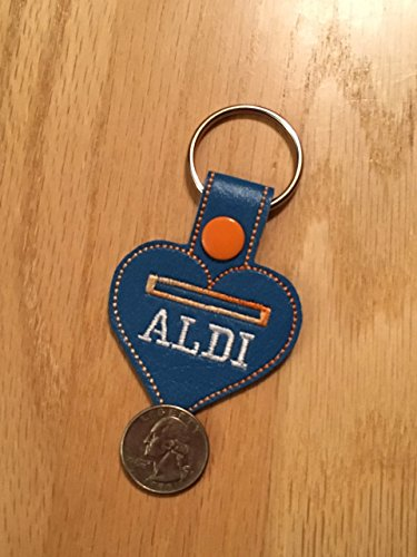 Aldi Keychain, Aldi-Love Quarter Keeper,