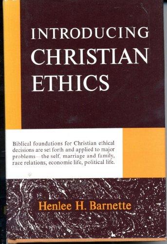 Introducing Christian Ethics