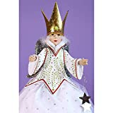 Patience Brewster Krinkles Star Fairy Tree Topper Figural Ornament #30895