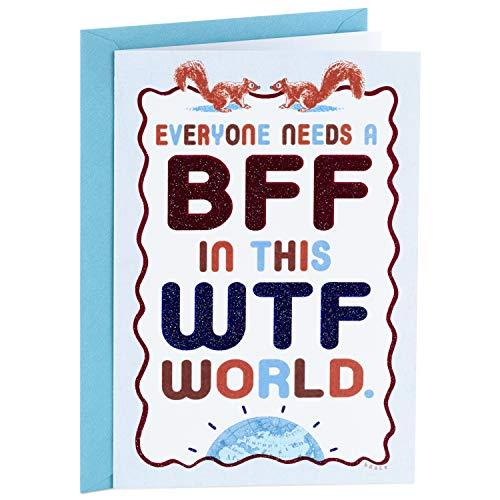 Hallmark Shoebox Funny Birthday Card, Thank You Card, Friendship Card (WTF World)