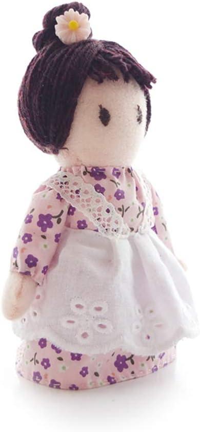 2 pi/èces de tissu /à faire soi-m/ême Lavande elfe kit de couture fait /à la main pour adultes et enfants MAJOZ0 Kit de fabrication de poup/ée