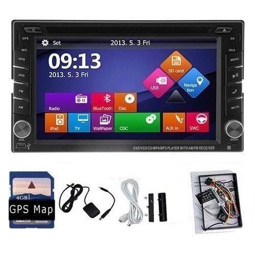Radio de coche con GPS Navi Navegación reiceiver Bluetooth ...