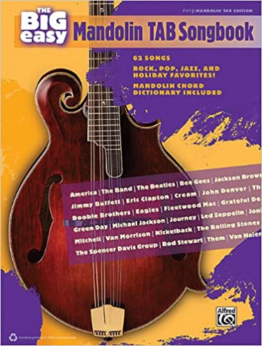 Mandolin mandolin tabs rock : Amazon.com: The Big Easy Mandolin Tab Songbook Easy Mandolin Tab ...