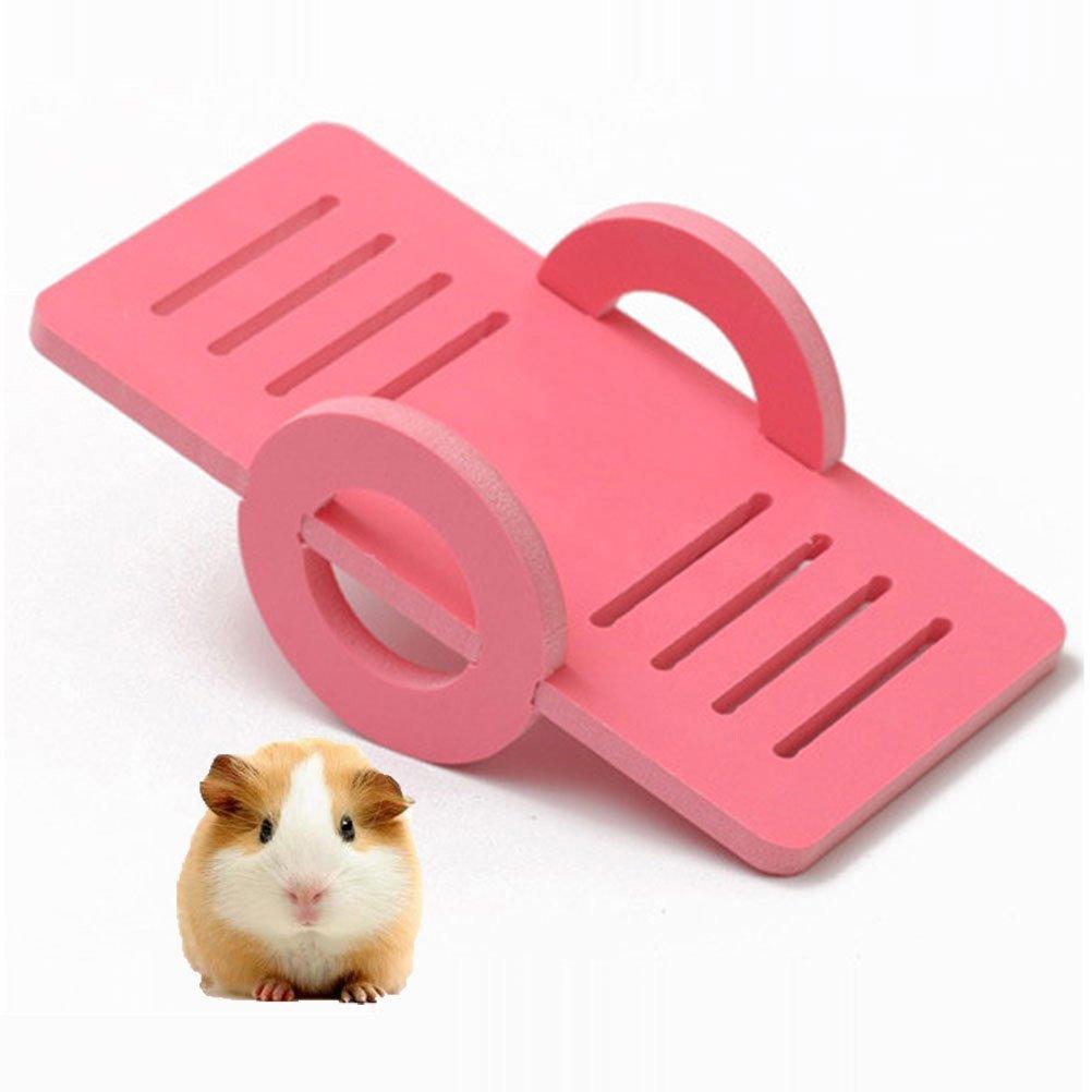 Plataforma de madera para hámster sirio, gerbil, rata, ratón ...
