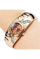 Soleasy Women's Bracelet Style Analog Quartz Metal Watch WTH8022