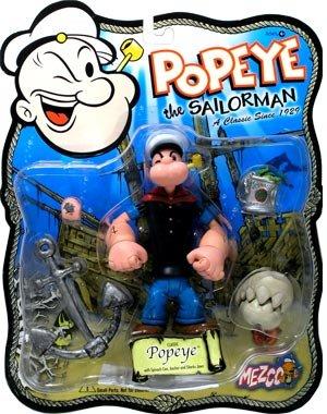 amazon com popeye the sailorman classic popeye toys games
