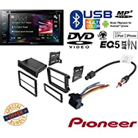 AVH-200EX Multimedia DVD Receiver with 6.2 WVGA Display VOLKSWAGEN 2008 - 2011 GLI CAR RADIO STEREO CD PLAYER DASH INSTALL MOUNTING KIT HARNESS