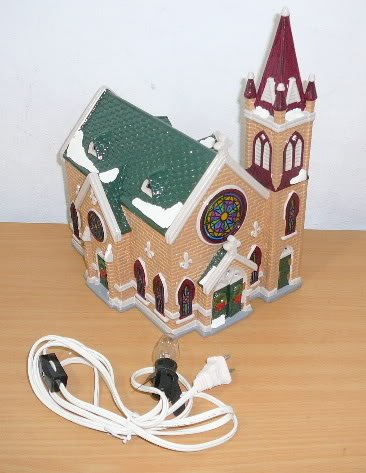 Department 56 Original Snow Village Mount Olivet Church