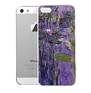 Light weight with strong PC plastic case for Iphone 5/5s Art The Classics Nympheas 1916-19