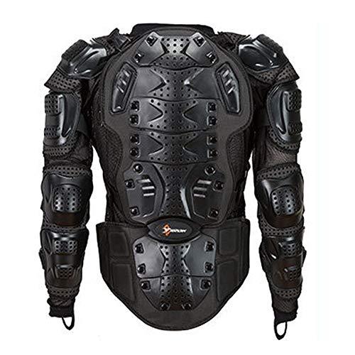 Chaqueta protectora de la motocicleta deportiva anti-caída motocross MTB racing ropa de protección de cuerpo completo hombres,L por QWERTU