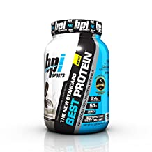 BPI Sports Best Protein Advanced 100% Protein Formula, Cookies and Cream, 2.1 Pounds