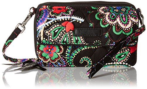 timeless design e5201 bcfaf Vera Bradley Womens' All In One Crossbody for Iphone 6+, Kiev - Import It  All
