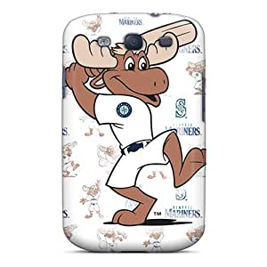 Shockproof Hard Phone Cover For Samsung Galaxy S3 (Xox3650vTrW) Customized HD Seattle Mariners Pictures