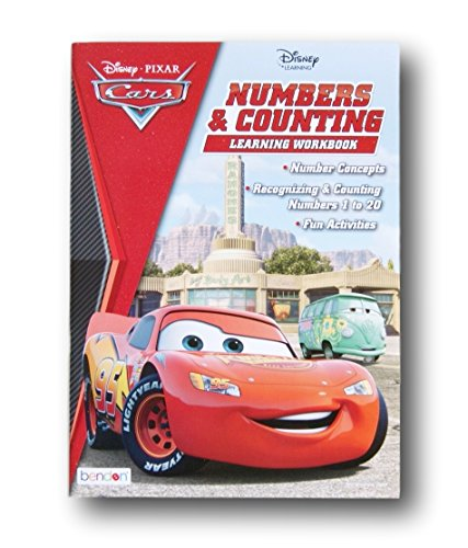 Cars Workbook (Disney Pixar Cars Numbers and Counting Learning Workbook for Ages 3+)