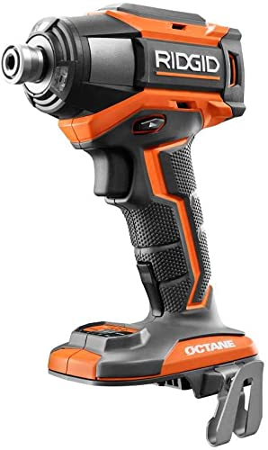 Ridgid 18-Volt OCTANE Brushless Cordless 6-Mode 1 4 in. Impact Driver Tool Only