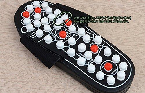 Geen Merk Draaikussen Chiropractie Gezondheid Pantoffels Voetenmassage Chiropractors Pantoffels Bloedsomloop Shiatsu