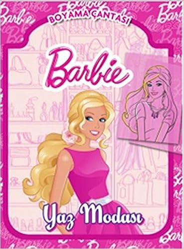 Barbie Yaz Modasi Boyama Cantasi Kolektif 9786050925128 Amazon