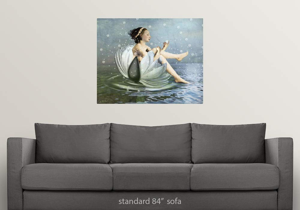 Amazon.com: GREATBIGCANVAS Poster Print Entitled Bubbles by ...