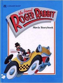 who framed roger rabbit movie storybook a golden book justine korman 9780307158475 amazoncom books
