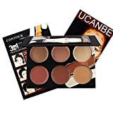 Ucanbe Contour Kit Contouring Highlighting Makeup Foundation Concealer Cream Palette (edition 1)