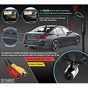 Backup Camera Of Next Generation Universal Car Rear View / Front View / Side View Guideline Camera- Top Grade Quality Materials- Make Your Life Easier