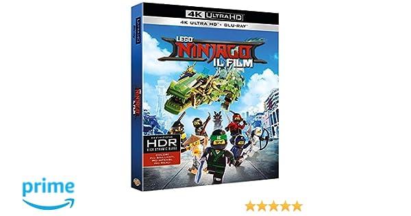 Lego Ninjago - Il Film Blu-Ray 4K Ultra Hd+Blu-Ray Blu-ray ...