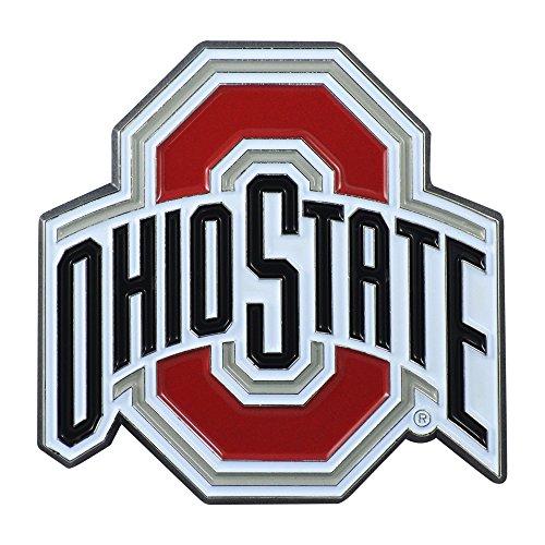 ohio state chrome car emblem - 8