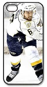 LZHCASE Personalized Protective Case for iPhone 5 - NHL Nashville Predators #6 Shea Weber
