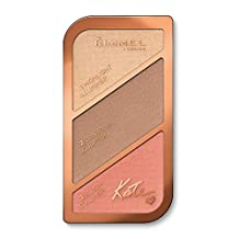 Rimmel London Sculpting and Highlighting Palette by Kate, Coral Glow, 1-Count