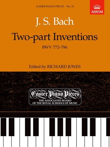Two-Part Inventions (Easier Piano Pieces)