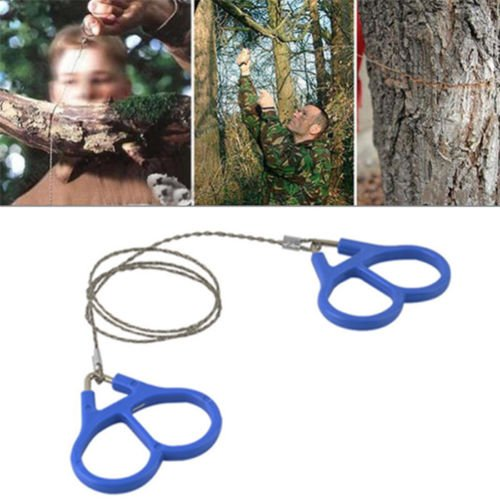 Sumanee Emergency Travel Survival Gear Stainless Steel Wire Saw Outdoor Camping Hiking by sumaneeSport