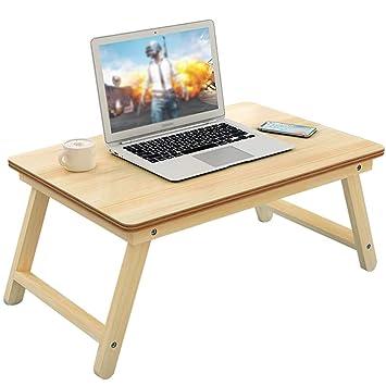 Mesas para ordenador Bandeja De La Cama Bandeja De La Cama Con Patas Portátiles Mesa Plegable ...