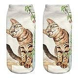 kingfansion Cute Casual Cotton Socks 3D Print Socks Cartoon Socks Sports Socks Stealth Socks Cylinder Socks (E)
