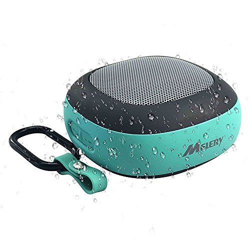 Melery NFC Bluetooth Speakers Outdoor Mini Portable Speaker Bass Stereo Sound with Waterproof IPX4 for all the Bluetooth Devices-Blue Color by Melery