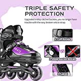 Hiboy Adjustable Inline Skates with All Light up