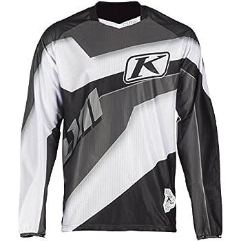 White XC Lite Jersey LG Black