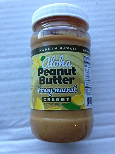 Hawaiian ALOHA Honey Macadamia Nut Peanut Butter 3-Pack