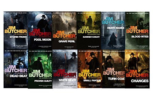 Jim Butcher the Dresden Files Series Set (Book 1-12): Storm Front, Full Moon, Grave Peril, Summer Knight, Death Masks, Blood Rites, Dead Beat, Proven Guilty, White Night, Small Favor, Turn Coat, Changes, (Dead Beat By Jim Butcher compare prices)
