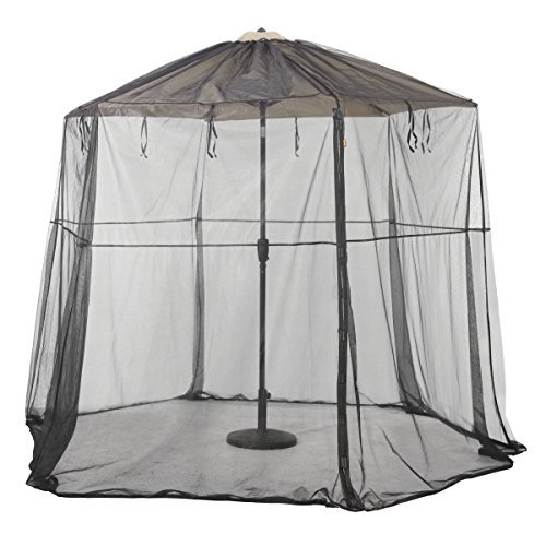Classic Accessories Universal Round Patio Umbrella Insect Screen Canopy (Bug Screen Accessory)