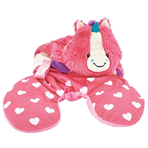 Adventure Animal - Animal Adventure | Popovers Travel Pillow | Pink Unicorn | Transforms from Character to Travel Pillow | 13