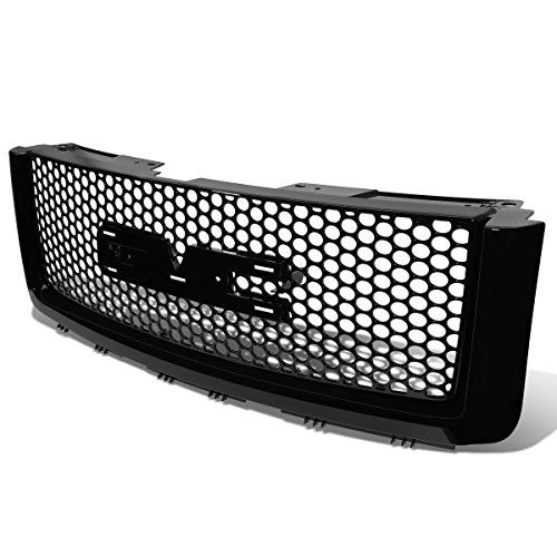 (DNA Motoring GRF-056-BK Front Bumper Grille Guard [For 07-13 GMC Sierra 1500 GMT900])