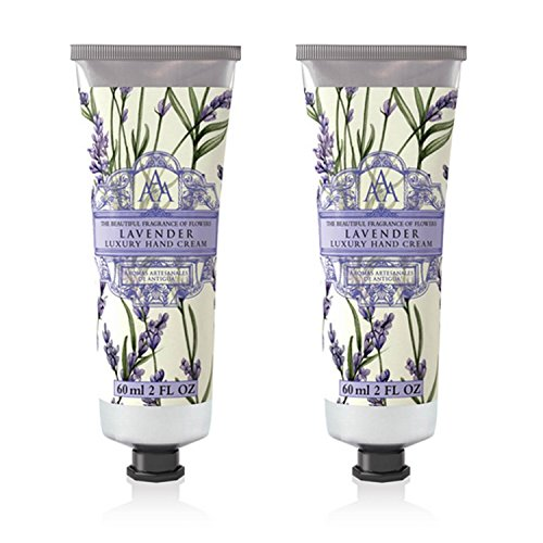 Somerset Toiletry Co. AAA Floral Hand Cream 2-Piece Set - Lavender