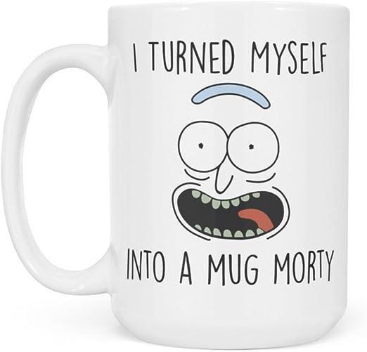 Rick et Morty Mug Solenya Pickle Man
