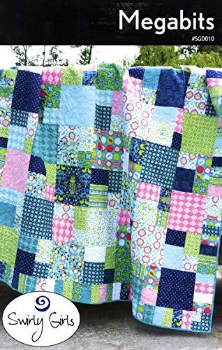 Swirly Girls Megabits Quilt Pattern Designs 80