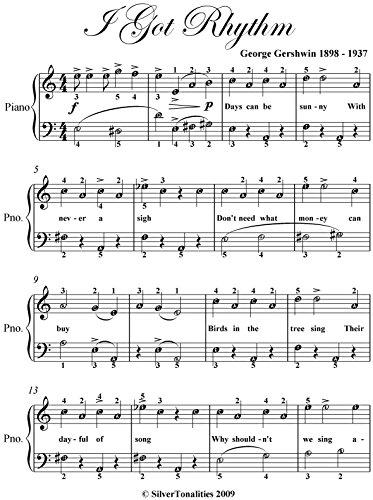 I Got Rhythm George Gershwin - 5