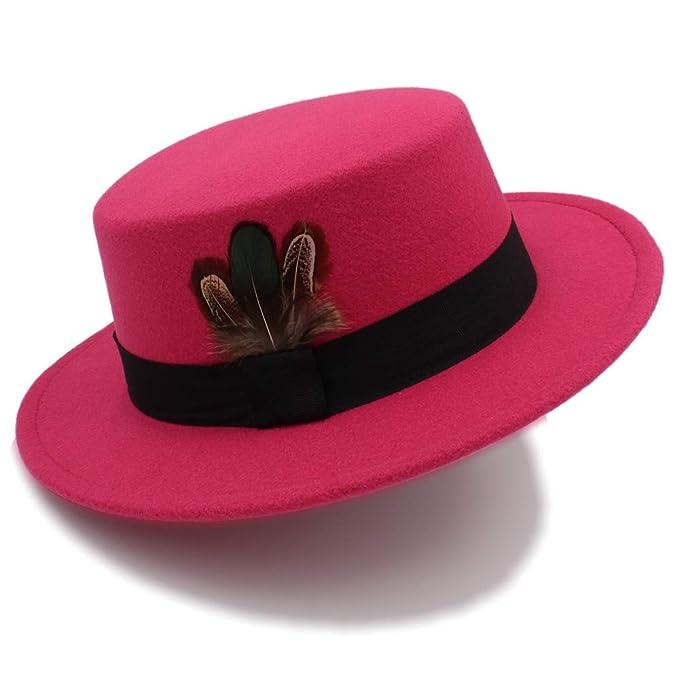 2f6ea0c403a XHD-caps 2018 Pork Pie Hat Men Tan Wool Fedora Hats Winter Bowler Women  Brown