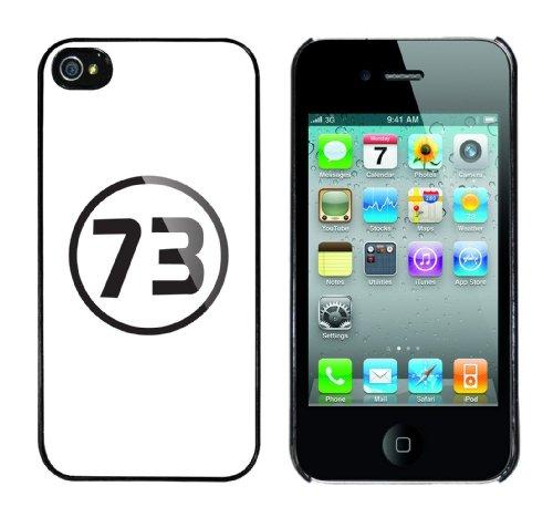 Iphone 4 Case 73 Rahmen schwarz