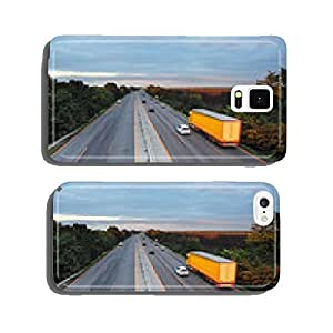 Highway with cars and Truck cell phone cover case iPhone6 Plus