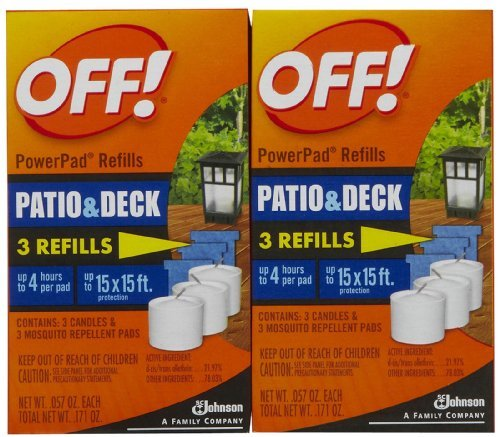 OFF! Lamp / Lantern PowerPad Refill 3 Units (2 Pack) 0.171 oz per pack Size: 2 Pack, Model: , Home/Garden & Outdoor Store