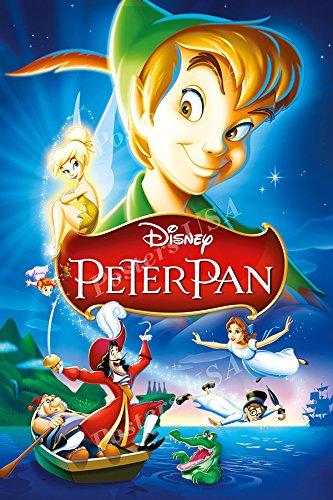 c791bb4520db6 Amazon.com: Posters USA Disney Classics Peter Pan Poster - DISN110 ...
